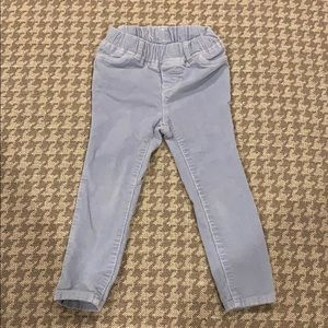Baby Gap periwinkle pull on corduroy